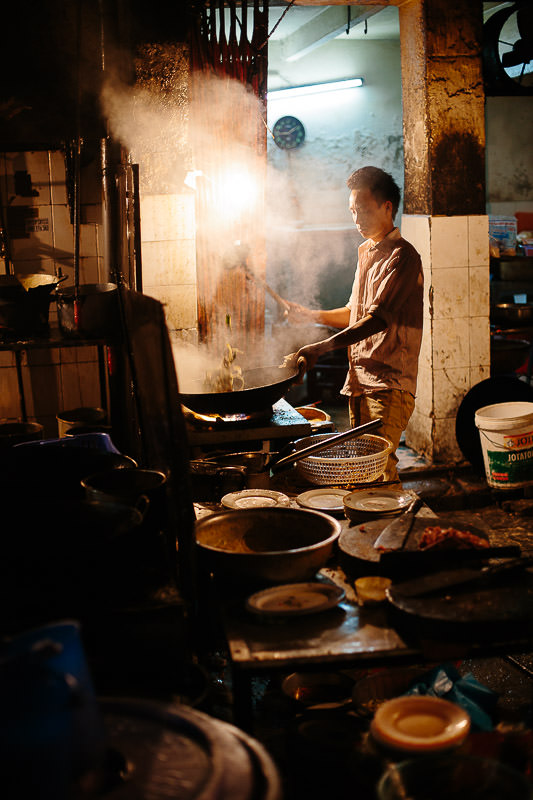 Street Food Night Market Vietnam