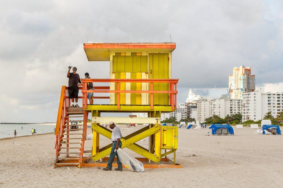 Beach Huts by Lars Gehrlein