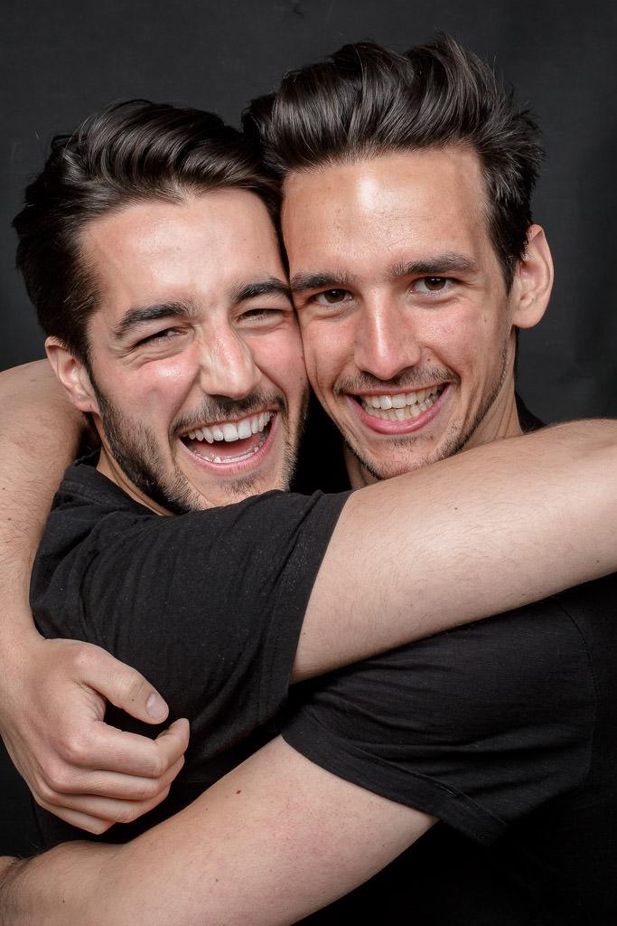 David und Samuel Breuer, Fotografiert von Lars Gehrlein, Köln