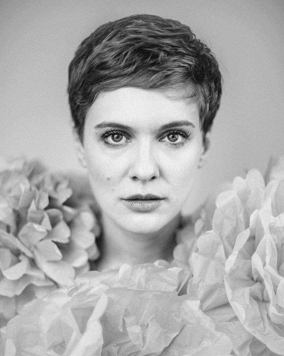 Nadja, analog fotografiert von Lars Gehrlein in Köln
